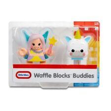 NEW SEALED PACKAGE:  Little Tikes Waffle Blocks Block Buddies - Fairy & Unicorn