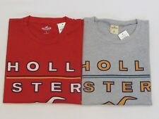NEW MEN'S HOLLISTER CO. SHORT SLEEVE GRAPHIC T-SHIRT, PICK A SIZE AND COLOR