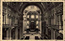Salzburg Österreich AK 1940 gelaufen nach Windsheim Dom Kirche Innenraum Altar