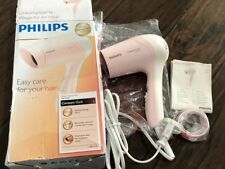 Philips Compact Care Hp 8110/22 Hair Dryer Peach Pink 1000W 250V 16A Plug