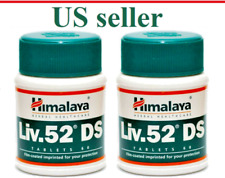 2 X 60 tabs Himalaya Herb LIV52DS Detoxifying Digestive Liver Care