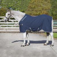 Horseware Rambo Grand Prix HELIX lite 0g Decke -Navy/Beige