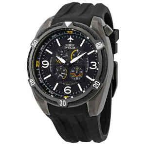 Invicta Aviator Black Dial Men's Watch 28078