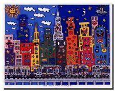 James Rizzi Original-Lithographien (1950-1999)