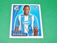 N°636 T. BRAMBLE WIGAN ATHLETIC MERLIN PREMIER LEAGUE FOOTBALL 2007-2008 PANINI