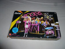BOXED VINTAGE 1985 BARBIE AND ROCKERS HOT ROCKIN STAGE 1144 + RECORD MATTEL