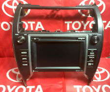 14 Toyota Camry Replacement Navigation Face-Plate Lcd & Touch-Screen Digitizer