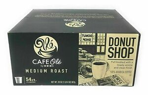 HEB Cafe Ole Donut Shop blend 72 Count K cups FREE SHIPPING