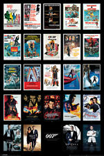 JAMES BOND MOVIE POSTERS  91.5 X 61CM MAXI POSTER NEW OFFICIAL MERCHANDISE