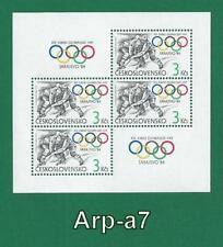 Olympics Miniature Sheet European Stamps