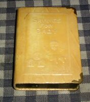 """Vintage Coin Book Bank,Safe,""""Savings for Baby"""",""""The First Step"""" Volume V,5,Zell"""