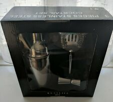 3 piece stainless steel cocktail set from the Westlife 2011 tour O2 London