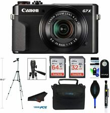 Canon Powershot G7x Mark II 20.1MP Digital Camera + Acessory Bundle (8pcs Bundle
