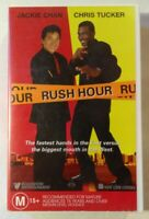 Rush Hour VHS 1998 Comedy Brett Ratner Jackie Chan Chris Tucker Roadshow Large