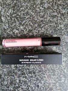M.A.C Dazzleglass Lip Gloss Baby Sparks Light Pink New And Boxed