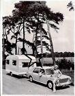 1965 BMC Austin Morris 1100 SPRITE ALPINE CARAVAN original Press PHOTO 399 JOB