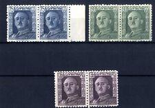 Sellos de España 1946- nº 999/1001 General Franco Bloque de dos Nuevos