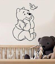 Wall Stickers Vinyl Decal Winnie The Pooh Cartoon Positive Baby Room (ig1041)