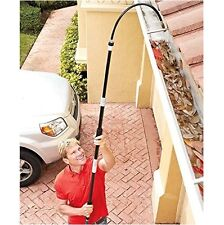 Gutter Cleaner Wand Tool Water Hose Attachment Telescoping Washer Car Wash