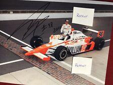 2011 Dan Wheldon REPRINT 8 X 10 Qualifying photo Indy 500 Winner REPRINT