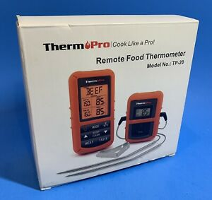 Thermo Pro TP-20 Wireless Remote Food Thermometer with Dual Probes