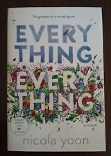 Everything, Everything by Nicola Yoon 2015 Paperback ARC Advance Proof Copy