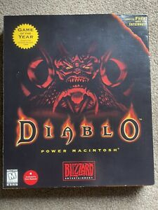 Diablo 1 PC Gatefold Big Box Retro PC Mac Windows