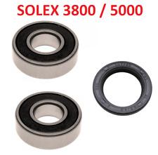 2Pc 6203-2RS Moto Scooter Rotation Billes /étanche 40x17x12mm