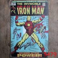 Metal Tin Sign the invincible iron man Pub Home Vintage Retro Poster Cafe ART