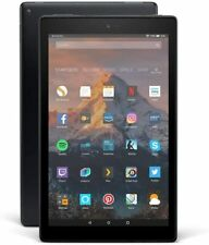 Amazon Fire HD 10 (64GB Wi-Fi IPS Touch Display Tablet, 7 Generation, Schwarz)