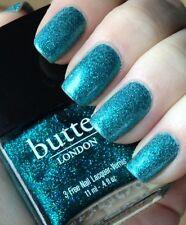 Butter London in HENLEY REGATTA Nail Polish ~ Green/Blue Glitter