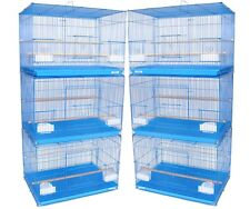 Breeding Bird Cage - For Finch Canary Budgie Etc .. PACK OF 6 AS AS SHOWN !