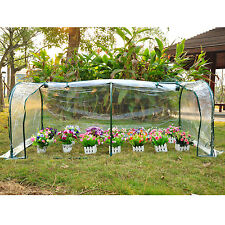 Outsunny Transparent Greenhouse Plants Flower Grow Tunnel Gardening Green House