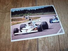 Photo / Photograph  Hulme McLAREN Ford M23 Anderstorp Swedish Grand Prix 1973 //