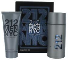 212 NYC by Carolina Herrera for Men SET: EDT Spray 3.4oz + After Shave Gel 3.4oz