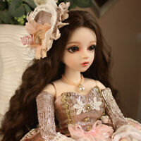 1/3 BJD Doll Fashion Princess 60cm Puppen Ball Jointed Dolls for Baby Girl Gift