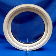 PVC Full Opening Plastic Round Porthole Circle Circular Window Double Glazed