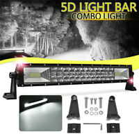 52//42//22 Inch LED 5D Curved Work Light Bar Combo Car Pickup Offroad Lamp