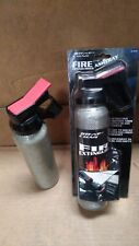 SALE- 1X FULL CARBON FIBRE IN-CAR ASHTRAY FIRE EXTINGUISHER STYLE WHITE