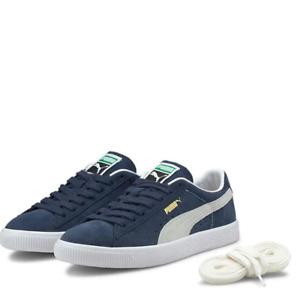 Puma Suede VTG Trainers UK 10 blue