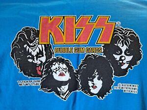 KISS 1978 Donruss Trading Cards Inspired Shirt