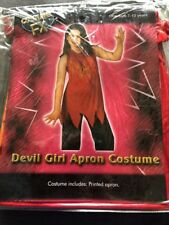 Halloween Job Lot 12 X Devil Girl Apron Fancy Dress Costumes