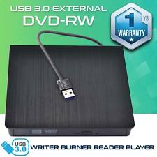 USB 3.0 External DVD RW CD RW Drive DVD±RW DVD Drive Burner DVD Rewriter Copier!