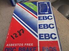 EBC brake padset heavy duty,dp546,renault 5 turbo 1.4l mid engined,rear,rrp£43