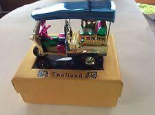 3 WHEEL TAXI - TUK TUK TAXI BANGKOK THAILAND