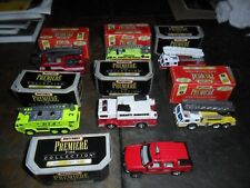 7 LOT MATCHBOX FIRE TRUCKS PREMIERE DENVER AIRPORT SEATTLE TAHOE MIAMI HOUSTON +
