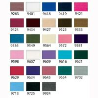 Velvet Ribbon by Berisfords Widths 9 16 22 36mm 40 Colours  Various Lengths