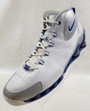 Nike Shox VC III Vince Carter Mens White Blue Basketball Shoes 307111 141 Sz 13