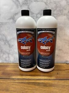 ATM Aquarium Products Colony Nitrifying Bacteria Marine 32 Ounce Lot of 2