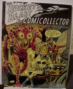 THE ROCKET 'S BLAST and THE COMICOLLECTOR #1 May 2002 - ONLY 2000 copies